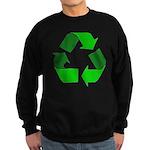 Recycle Environment Symbol Sweatshirt (dark)