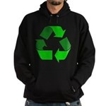 Recycle Environment Symbol Hoodie (dark)