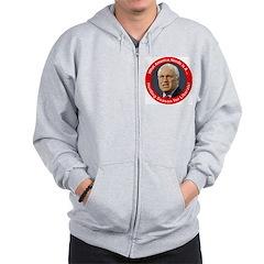 Dick Cheney Hunting Season Zip Hoodie