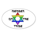 Member of the Tribe Oval Sticker