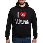 I Love Vultures Hoodie (dark)