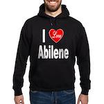I Love Abilene Hoodie (dark)