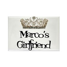 Marco's Girlfriend Rectangle Magnet