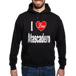 I Love Atascadero Hoodie (dark)