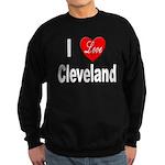 I Love Cleveland Sweatshirt (dark)