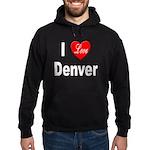 I Love Denver Hoodie (dark)