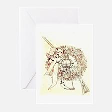 """""""My Flintlock"""" Greeting Cards (Pk of 10)"""