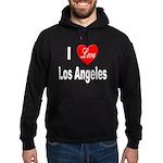 I Love Los Angeles Hoodie (dark)