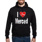 I Love Merced Hoodie (dark)