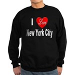 I Love New York City Sweatshirt (dark)