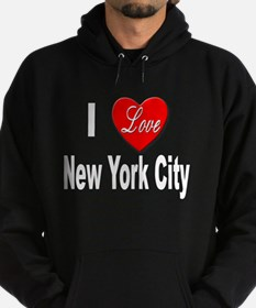 I Love New York City Hoodie
