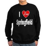 I Love Springfield Sweatshirt (dark)