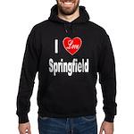 I Love Springfield Hoodie (dark)