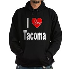 I Love Tacoma Hoodie