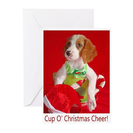 Cup O' Christmas Cheer Greeting Cards (Pk of 20)
