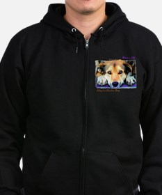 Save a Life - Adopt a Shelter Zip Hoodie