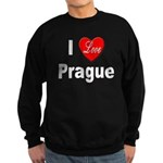 I Love Prague Sweatshirt (dark)
