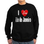 I Love Rio de Janeiro Sweatshirt (dark)