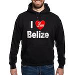 I Love Belize Hoodie (dark)