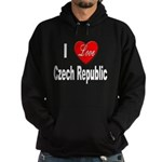 I Love Czech Republic Hoodie (dark)