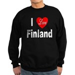I Love Finland Sweatshirt (dark)
