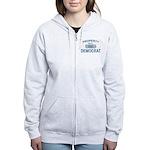 XXL Democrat Women's Zip Hoodie
