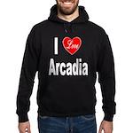 I Love Arcadia Hoodie (dark)