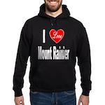 I Love Mount Rainier Hoodie (dark)