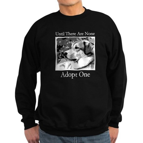 Until There are None For Dogs Sweatshirt (dark)