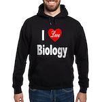 I Love Biology Hoodie (dark)