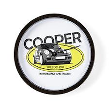 Cooper Speedshop Wall Clock