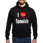 I Love Spanish Hoodie (dark)