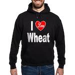 I Love Wheat Hoodie (dark)