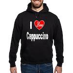 I Love Cappuccino Hoodie (dark)