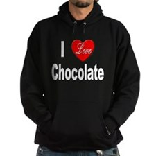 I Love Chocolate Hoody