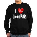 I Love Cream Puffs Sweatshirt (dark)