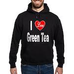 I Love Green Tea Hoodie (dark)