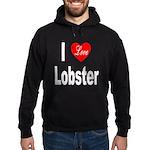 I Love Lobster Hoodie (dark)