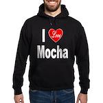 I Love Mocha Hoodie (dark)