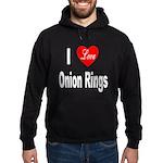 I Love Onion Rings Hoodie (dark)
