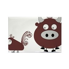 Uncle Chad's Rectangle Magnet (100 pack)