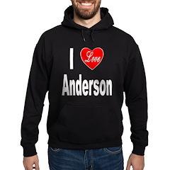 I Love Anderson Hoodie