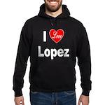 I Love Lopez Hoodie (dark)