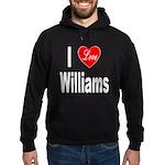 I Love Williams Hoodie (dark)