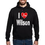 I Love Wilson Hoodie (dark)