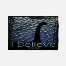 I Believe Nessie Lives Rectangle Magnet