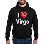 I Love Virgo Hoodie (dark)