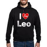 I Love Leo Hoodie (dark)