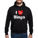I Love Bingo Hoodie (dark)