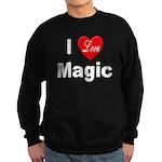 I Love Magic Sweatshirt (dark)
